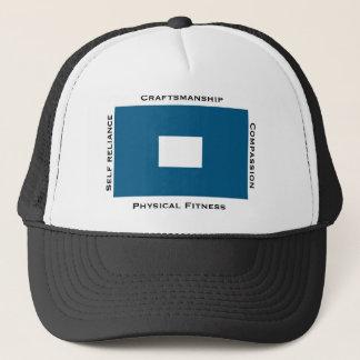 Thompson Island OB Trucker Hat_Blue Peter Trucker Hat