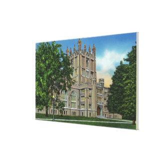 Thompson Memorial Library, Vassar College Canvas Print