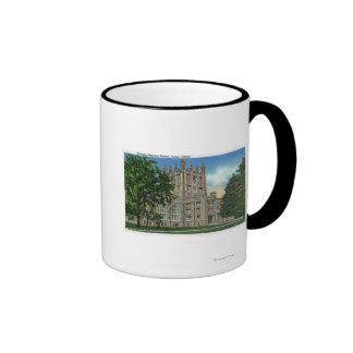 Thompson Memorial Library, Vassar College Ringer Coffee Mug