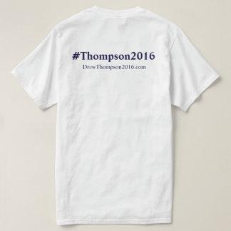 Thompson unisex para la camiseta del congreso camisas