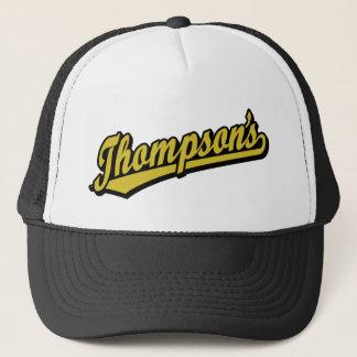 Thompson's in Gold Trucker Hat