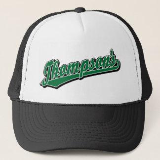Thompson's in Green Trucker Hat