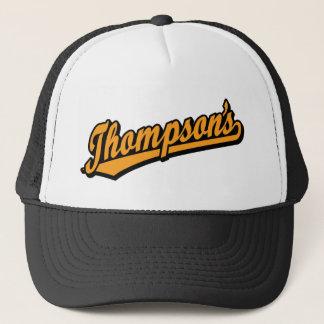 Thompson's in Orange Trucker Hat