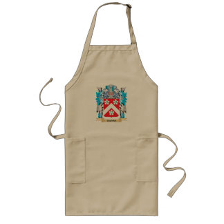 Thoms Coat of Arms - Family Crest Long Apron