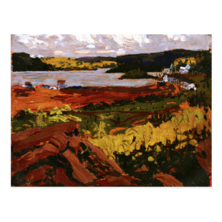 Thomson - Canoe Lake, Mowat Lodge Postcard