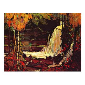 Thomson - cascada del arbolado tarjeta postal