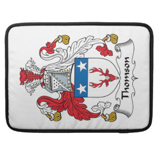 Thomson Family Crest Sleeve For MacBook Pro