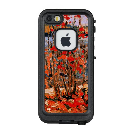 Thomson - Lake and Red Tree LifeProof FRĒ iPhone SE/5/5s Case
