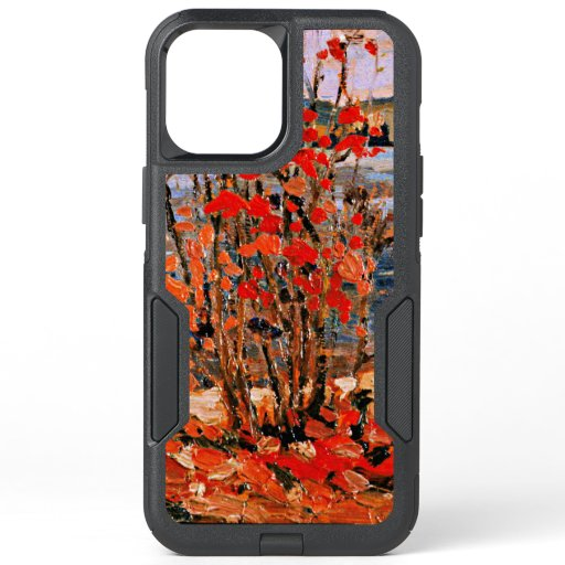Thomson - Lake and Red Tree OtterBox Commuter iPhone 12 Pro Max Case