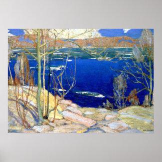 Thomson - Spring Ice Poster