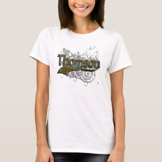 Thomson Tartan Grunge T-Shirt