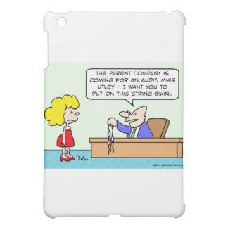 thong bikini businessman secretary iPad mini case