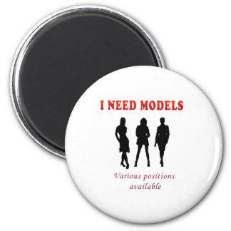 Thong bikini models 2 inch round magnet