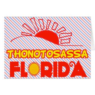 Thonotosassa, la Florida Tarjeta De Felicitación