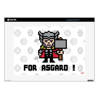 ¡Thor 8Bit - para Asgard! Portátil 38,1cm Skin