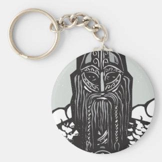 Thor and Mjolnir Keychain