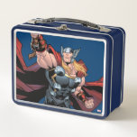 """Thor Assemble Metal Lunch Box<br><div class=""""desc"""">Avengers Assemble 