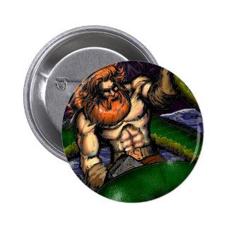 Thor contra el botón de Jormungand Pin