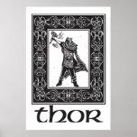 Thor de dios de los nórdises impresiones