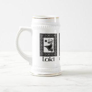 Thor de dios de los nórdises jarra de cerveza