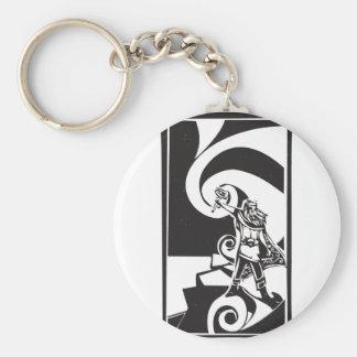 Thor de dios de los nórdises llaveros personalizados