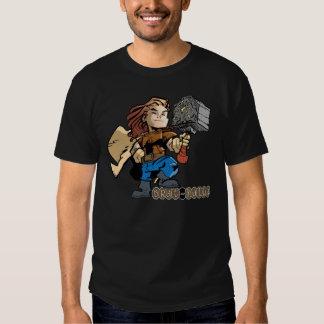 Thor del Palo de golf-halla con Mjollnir Camisas