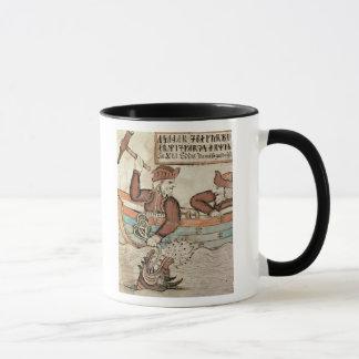 Thor fishing for the serpent of Midgard Mug