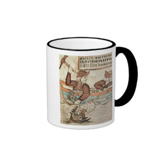 Thor fishing for the serpent of Midgard Mugs