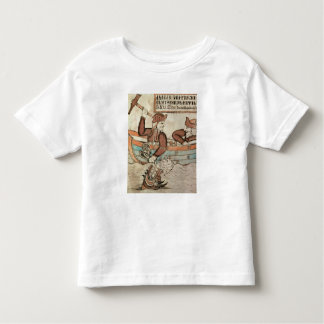 Thor fishing for the serpent of Midgard Toddler T-shirt