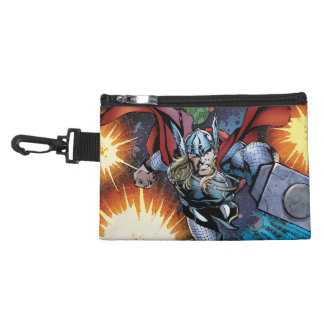 Thor Flying Through Space Comic Panel Accessories Bag