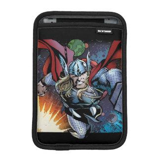 Thor Flying Through Space Comic Panel iPad Mini Sleeve