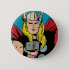 "Thor ""God of Thunder"" Comic Panel Button"