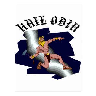 Thor Hail Odin Postcard