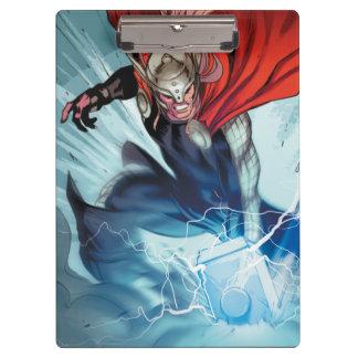 Thor Hammer Comic Panel Clipboard