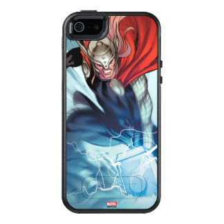 Thor Hammer Comic Panel OtterBox iPhone 5/5s/SE Case