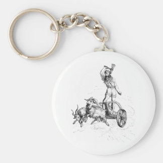 Thor in his Chariot Key Chains