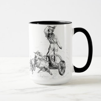 Thor in His Chariot Mug