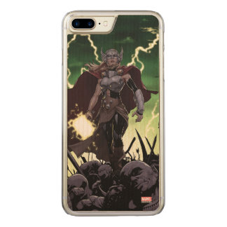 Thor Over Slain Enemies Carved iPhone 8 Plus/7 Plus Case