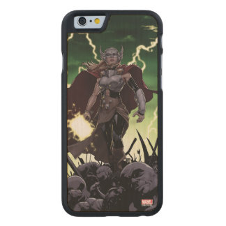 Thor Over Slain Enemies Carved Maple iPhone 6 Case