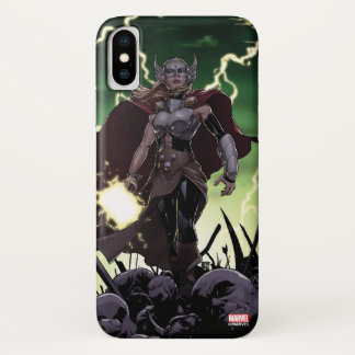 Thor Over Slain Enemies iPhone X Case