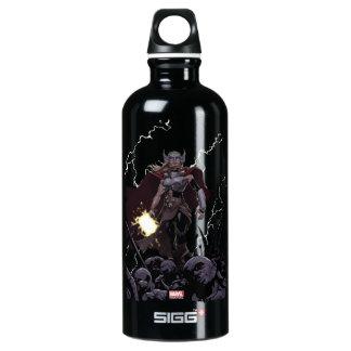 Thor Over Slain Enemies Water Bottle