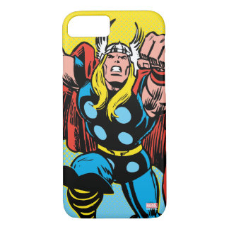 Thor Punching Attack iPhone 8/7 Case
