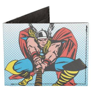 Thor que balancea Mjolnir adelante Billeteras Tyvek®