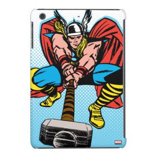 Thor que balancea Mjolnir adelante Carcasa Para iPad Mini