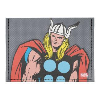 Thor que coloca arte cómico retro alto tarjeteros tyvek®