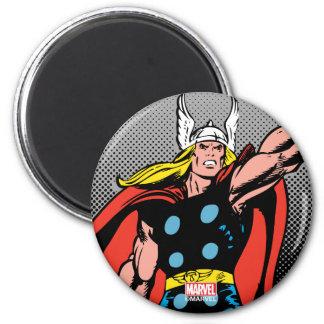 Thor Raising Mjolnir Magnet