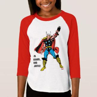 Thor Raising Mjolnir T-Shirt