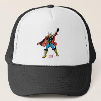 Thor Raising Mjolnir Trucker Hat
