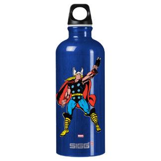 Thor Raising Mjolnir Water Bottle