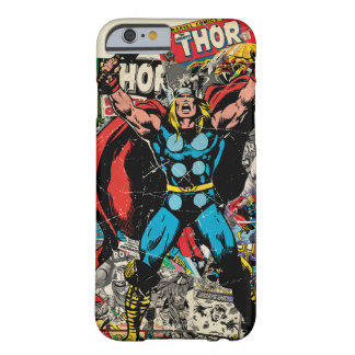 Thor Retro Comic Graphic Barely There iPhone 6 Case